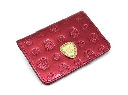モノグラム 二つ折り財布パスケース  「ゴールドファイル」 GP36465 ワイン 正面