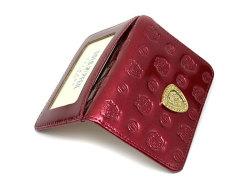 モノグラム 二つ折り財布パスケース  「ゴールドファイル」 GP36465 ワイン 特徴