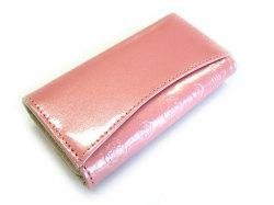 モノグラム キーケース 「ゴールドファイル」 GP36565 ピンク 裏面