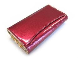 モノグラム キーケース 「ゴールドファイル」 GP36565 ワイン 裏面