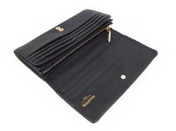 Natural(ナチュラル) 長財布 「ゴールドファイル」 GP54016 クロ 内作り