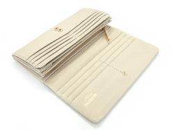 Natural(ナチュラル) 長財布 「ゴールドファイル」 GP54016 アイボリー 内作り