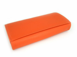 Natural(ナチュラル) 長財布 「ゴールドファイル」 GP54016 オレンジ 裏面