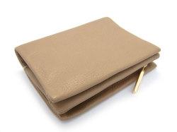 Natural(ナチュラル) 二つ折り財布(ファスナー小銭入れ付き) 「ゴールドファイル」 GP54214 オーク 裏面