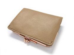 Natural(ナチュラル) 二つ折り財布(がま口小銭入れあり) 「ゴールドファイル」 GP54312 オーク 裏面