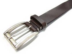 クラシコ イタリアンバックル ベルト 35mm幅 ピン式 「プレリーギンザ」 NB11990 チョコ 特徴