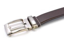 牛革 スーツスタイルベルト 「プレリーギンザ」 NB19880 チョコ 正面