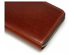 Cordovan Color(コードバンカラー)ラウンドファスナー長財布  「プレリー1957」 NP01029 チョコ 特徴