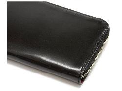 Cordovan Color(コードバンカラー)ラウンドファスナー長財布  「プレリー1957」 NP01029 クロ/アカ 特徴