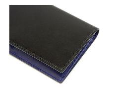 Cordovan Color(コードバンカラー)長財布 「プレリー1957」 NP01123 クロ/ブルー 特徴