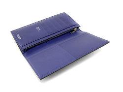 Cordovan Color(コードバンカラー)長財布 「プレリー1957」 NP01123 クロ/ブルー 内作り