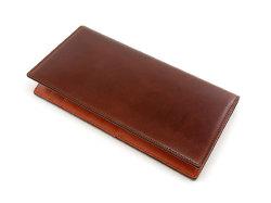 Cordovan Color(コードバンカラー)長財布 「プレリー1957」 NP01123 チョコ 正面