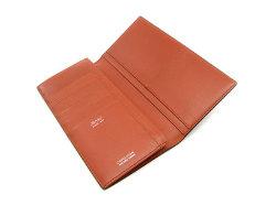 Cordovan Color(コードバンカラー)長財布 「プレリー1957」 NP01123 チョコ 内作り