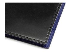 Cordovan Color(コードバンカラー)二つ折り財布(小銭入れあり)「プレリー1957」 NP01220 クロ/ブルー 特徴
