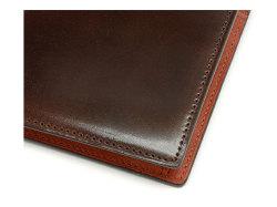 Cordovan Color(コードバンカラー)二つ折り財布(小銭入れあり)「プレリー1957」 NP01220 チョコ 特徴