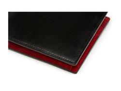 Cordovan Color(コードバンカラー)二つ折り財布(小銭入れあり)「プレリー1957」 NP01220 クロ/アカ 特徴