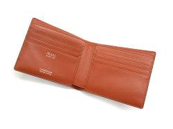 Cordovan Color(コードバンカラー)二つ折り財布(小銭入れなし)「プレリー1957」 NP01318 チョコ 内作り