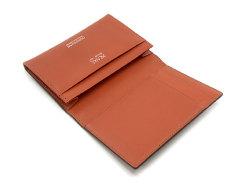 Cordovan Color(コードバンカラー)名刺入れ 「プレリー1957」 NP01413 チョコ 内作り