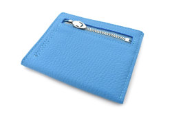 JOY (ジョイ) ミニ財布(カードコイン型) 「プレリー1957」 NP03760 ブルー 裏面