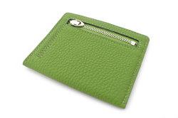 JOY (ジョイ) ミニ財布(カードコイン型) 「プレリー1957」 NP03760 グリーン 裏面