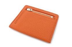 JOY (ジョイ) ミニ財布(カードコイン型) 「プレリー1957」 NP03760 オレンジ 裏面