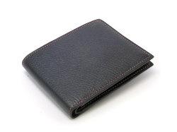ピープル 二つ折り財布(小銭入れなし) 「プレリー1957」 NP10295 クロ/ピンク 正面