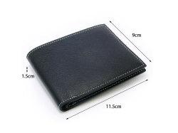 ピープル 二つ折り財布(小銭入れなし) 「プレリー1957」 NP10295 サイズ