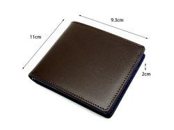 フレンチボックスカーフ 二つ折り財布(小銭入れなし) 「プレリー1957」 NP11311 サイズ