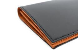 CORDOVAN1957(コードバン1957) 長財布(小銭入れあり) 「プレリー1957」 NP12127 クロ 側面