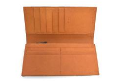 CORDOVAN1957(コードバン1957) 長財布(小銭入れあり) 「プレリー1957」 NP12127 グリーン 内作り
