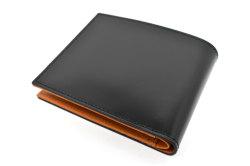 CORDOVAN1957(コードバン1957) 二つ折り財布(小銭入れあり) 「プレリー1957」 NP12223 クロ 裏面