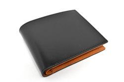CORDOVAN1957(コードバン1957) 二つ折り財布(小銭入れあり) 「プレリー1957」 NP12223 クロ 正面