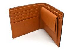 CORDOVAN1957(コードバン1957) 二つ折り財布(小銭入れあり) 「プレリー1957」 NP12223 クロ 内作り