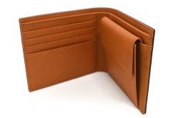 CORDOVAN1957(コードバン1957) 二つ折り財布(小銭入れあり) 「プレリー1957」 NP12223 グリーン 内作り