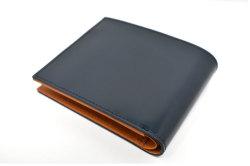CORDOVAN1957(コードバン1957) 二つ折り財布(小銭入れあり) 「プレリー1957」 NP12223 コン 裏面