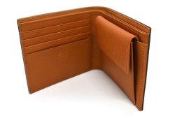 CORDOVAN1957(コードバン1957) 二つ折り財布(小銭入れあり) 「プレリー1957」 NP12223 コン 内作り