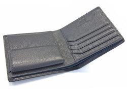ItalianDeerskin (イタリアンディア) 二つ折り財布(小銭入れあり) 「プレリー1957」 NP17112 グレー 特徴