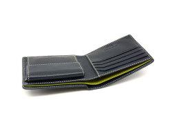 ItalianDeerskin (イタリアンディア) 二つ折り財布(小銭入れあり) 「プレリー1957」 NP17112 コン 特徴
