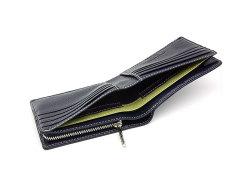 ItalianDeerskin (イタリアンディア) 二つ折り財布(F小銭入れあり) 「プレリー1957」 NP17814 コン 特徴