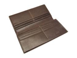 BabySkinKip (ベビースキンキップ) 長財布 「プレリー1957」 NP19015 チョコ 内作り