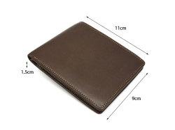 BabySkinKip (ベビースキンキップ) 二つ折り財布(小銭入れなし) 「プレリー1957」 NP19211 サイズ