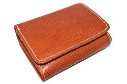 FAV(ファボ) 二つ折り財布(小銭入れあり) 「ル・プレリーギンザ 」 NP20213 チャ 正面