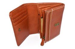 FAV(ファボ) 二つ折り財布(小銭入れあり) 「ル・プレリーギンザ 」 NP20213 チャ 内作り