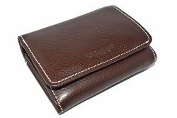 FAV(ファボ) 二つ折り財布(小銭入れあり) 「ル・プレリーギンザ 」 NP20213 チョコ 正面