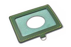 Gadget(ガジェット) IDカードケース 「プレリー1957」 NP45930 グリーン 正面
