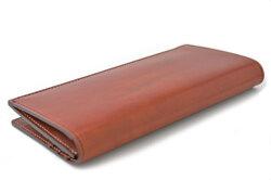 Natural Cordovan(ナチュラルコードバン) 長財布 「プレリーギンザ」 NP48033 チョコ 裏面