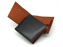 ナチュラルグレージングコードバン  二つ折り財布(小銭入れあり)  「プレリーギンザ」 NP53130 クロ 特徴