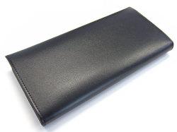 ボックスカーフ ヴェネチアンレザー  長財布  「プレリーギンザ」 NP56020 クロ 裏面