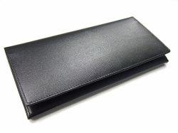 ボックスカーフ ヴェネチアンレザー  長財布  「プレリーギンザ」 NP56020 クロ 正面