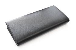 ボックスカーフ ヴェネチアンレザー  長財布  「プレリーギンザ」 NP56020 クロ/クロ 裏面
